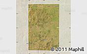 Satellite Map of Rancul, lighten
