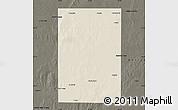 Shaded Relief Map of Rancul, darken