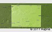 Physical Panoramic Map of Rancul, darken