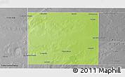 Physical Panoramic Map of Rancul, desaturated