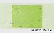 Physical Panoramic Map of Rancul, lighten