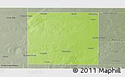Physical Panoramic Map of Rancul, semi-desaturated