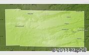 Physical Map of Ultracan, darken