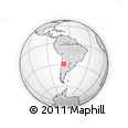 Outline Map of Chilecito