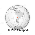 Outline Map of Famatina