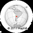 Outline Map of General Angel V. Pesaloza