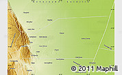 Physical Map of General Belgrano