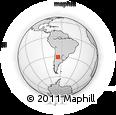 Outline Map of General Belgrano