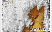Physical Map of General Lamadrid