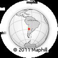 Outline Map of General Lamadrid