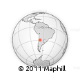 Outline Map of General Lavalle