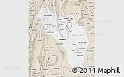 Classic Style Map of La Rioja