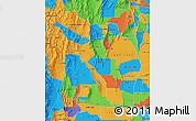 Political Map of La Rioja