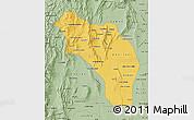 Savanna Style Map of La Rioja