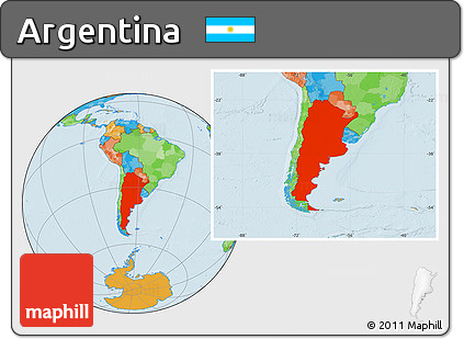 Free political location map of argentina political location map of argentina gumiabroncs Images