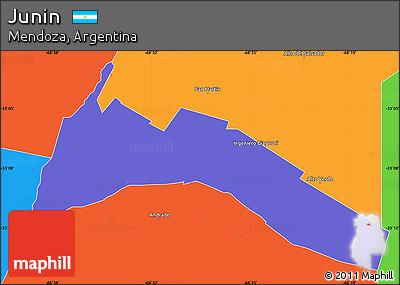 Free Political Simple Map Of Junin - Junin argentina map