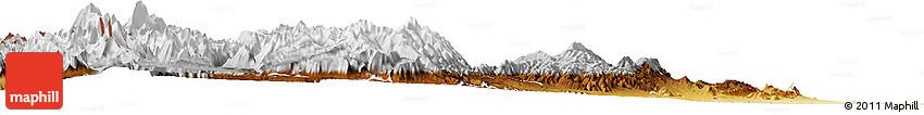 Physical Horizon Map of Las Heras