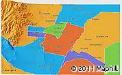 Political 3D Map of Maipu