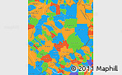 Political Simple Map of Misiones
