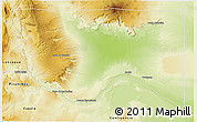 Physical 3D Map of Anelo