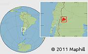 Savanna Style Location Map of Catan Lil