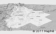Gray Panoramic Map of Catan Lil