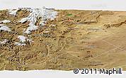 Satellite Panoramic Map of Catan Lil
