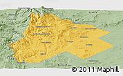 Savanna Style Panoramic Map of Catan Lil