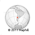 Outline Map of Chos Malal