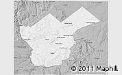 Gray 3D Map of Collon Cura