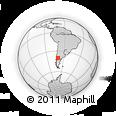 Outline Map of Collon Cura