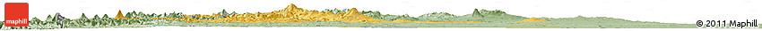 Savanna Style Horizon Map of Neuquen