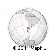 Outline Map of Huiliches