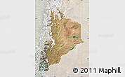 Satellite Map of Neuquen, lighten
