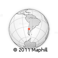 Outline Map of Minas