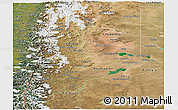Satellite Panoramic Map of Neuquen
