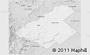 Free Silver Style D Map Of Zapala - Zapala argentina map