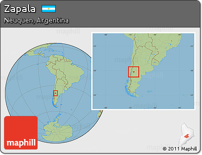 Free Savanna Style Location Map Of Zapala Within The Entire Country - Zapala argentina map