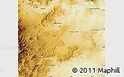 Physical Map of Zapala