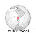 Outline Map of Zapala