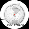 Outline Map of 9 De Julio