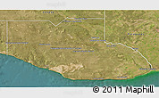 Satellite 3D Map of Adolfo Alsina