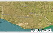 Satellite Map of Adolfo Alsina