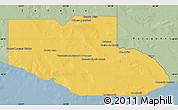 Savanna Style Map of Adolfo Alsina