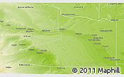 Physical 3D Map of Avellaneda