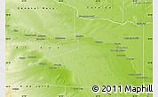 Physical Map of Avellaneda