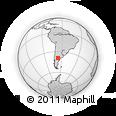 Outline Map of Avellaneda
