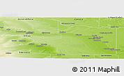 Physical Panoramic Map of Avellaneda