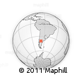 Outline Map of El Cuy