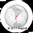 Outline Map of Pichi Mahuida